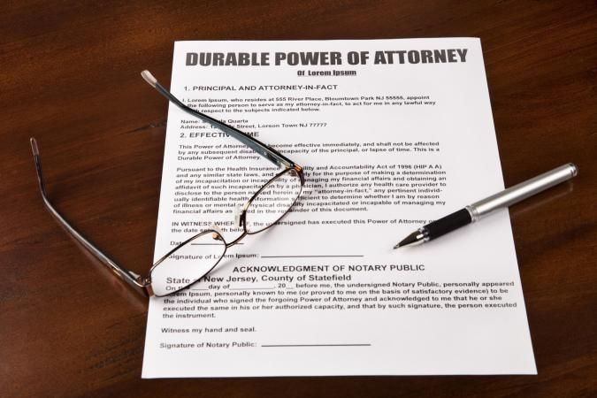 Free Downloadable Durable General Power Of Attorney Form  Will