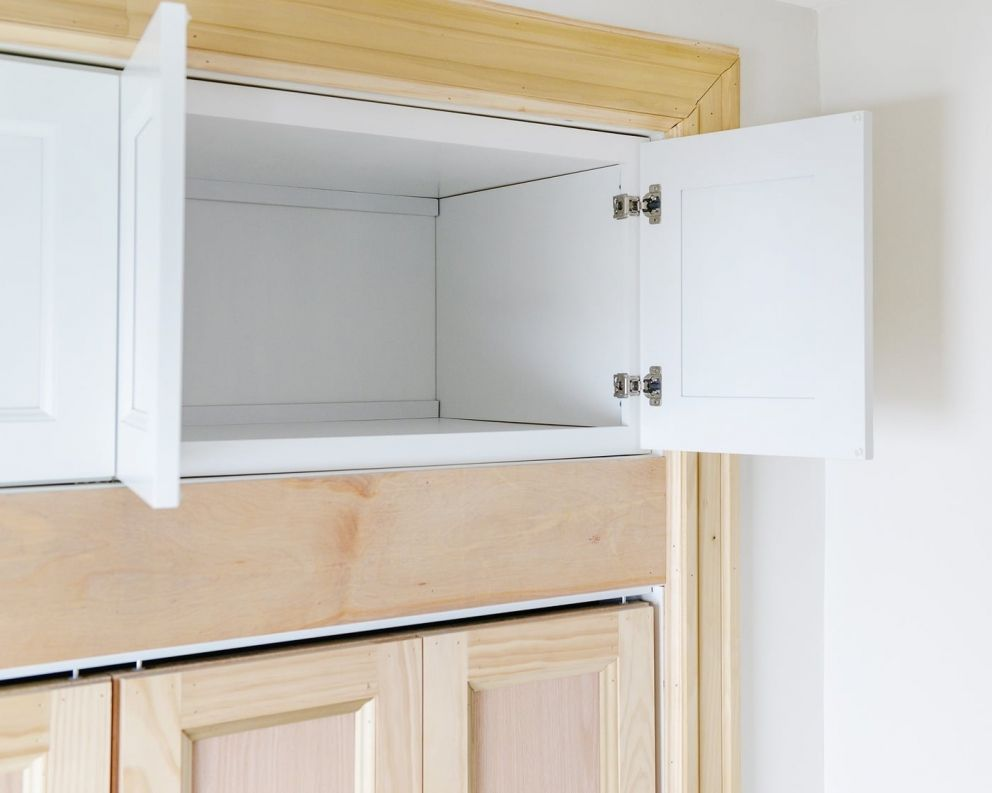 Adding Extra Deep Cabinets Above Our Closet In 2020 Deep Closet Bedroom Closet Storage Closet Planning