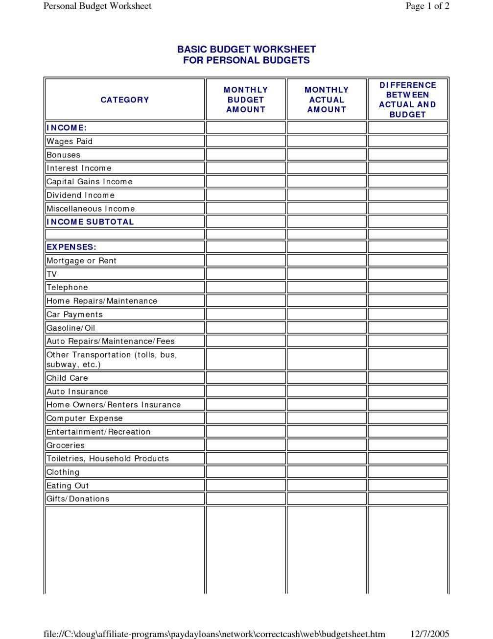 Insurance Spreadsheet Template In 2020 Personal Budget Template Personal Budget Budget Spreadsheet