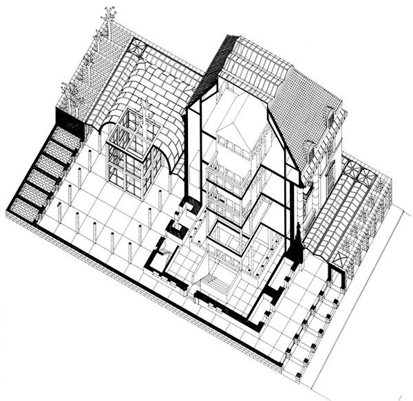 Oswald mathias ungers architecture museum frankfurt for Design museum frankfurt