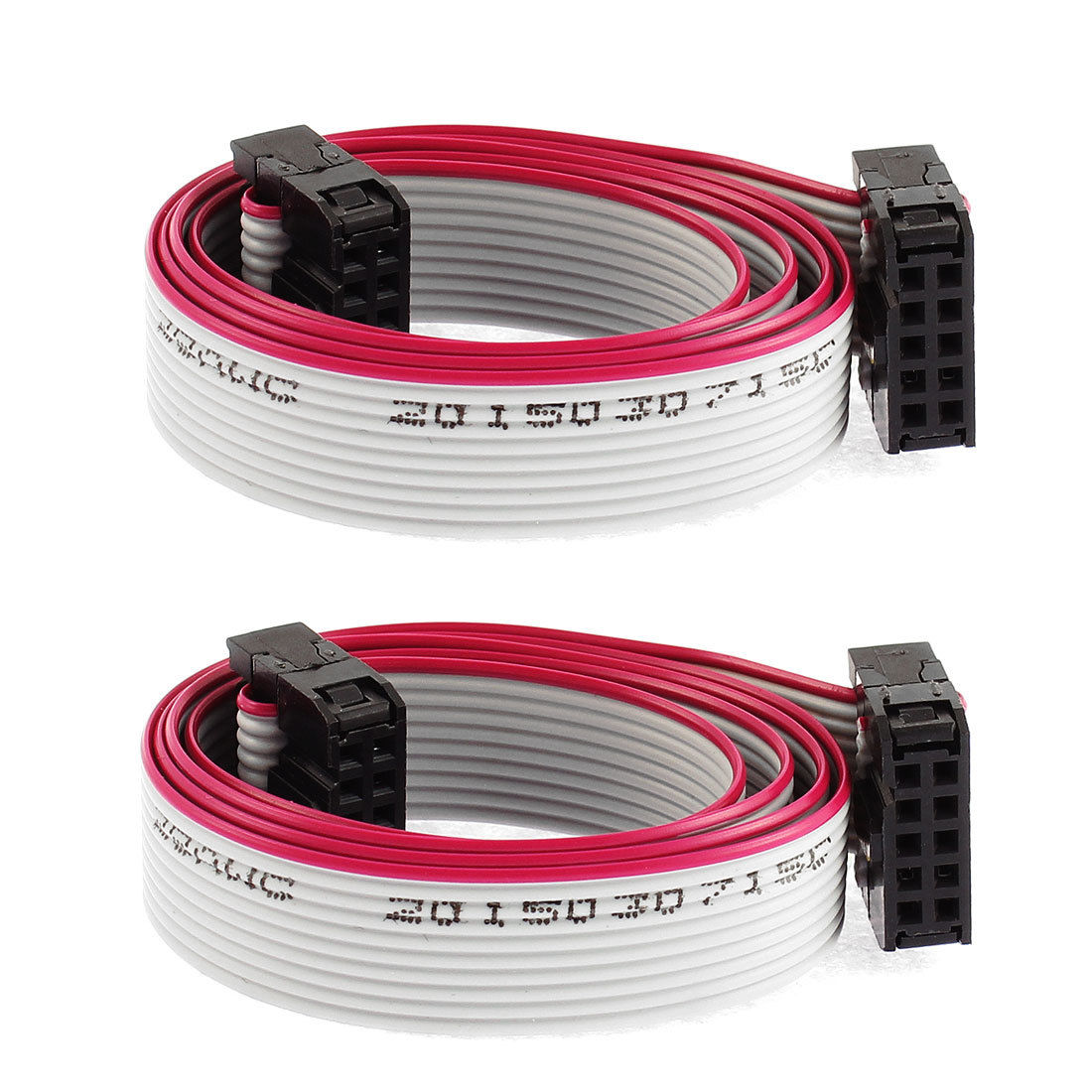 5 75 Aud 2 Pcs 10 Pin 10 Wire Idc Socket Flat Ribbon Cable 50cm Long Ebay Electronics Sockets Computer Accessories Ebay