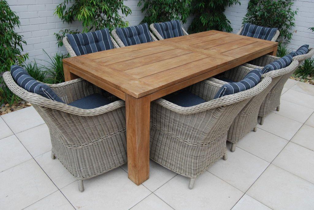 modern teak outdoor furniture rustic
