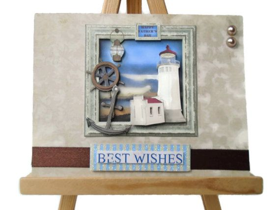 Handmade card Birthday  3D dimensional greeting card by itsmemanon