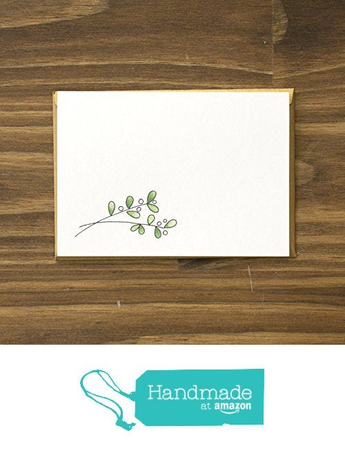 Evergreen Winter Botanical Variety Stationery Set from Betsy Ann Paper