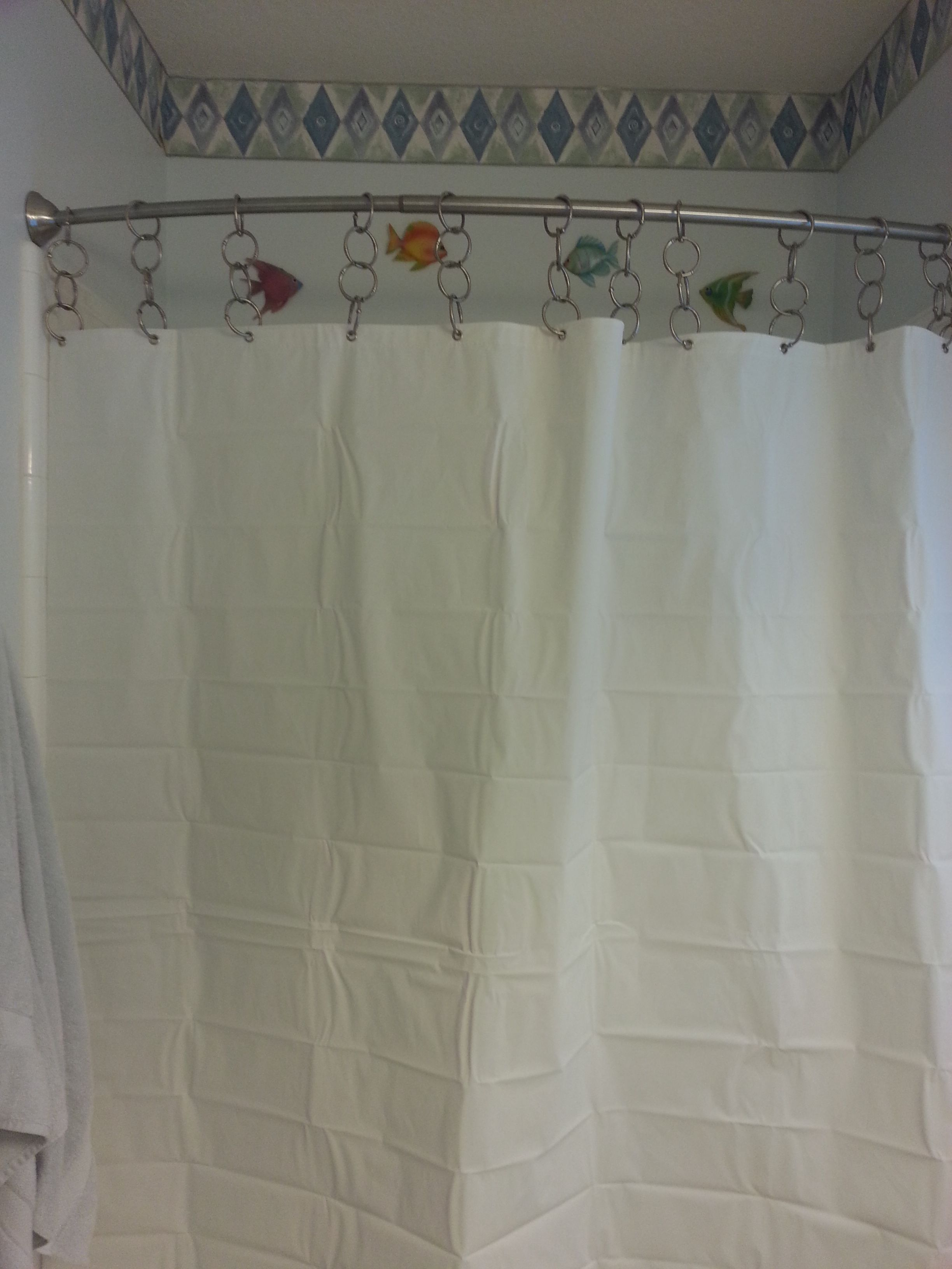 Shower Rod Curtain Rings