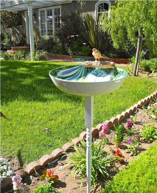 Diy Balcony Garden Ideas: 35 Best DIY Bird Bath Ideas For 2019