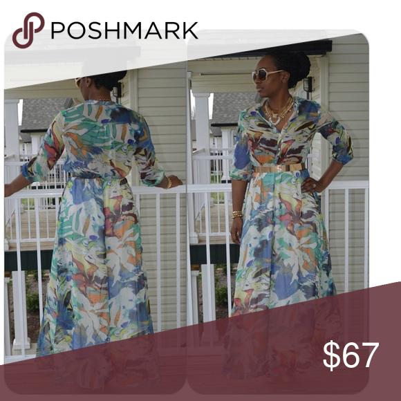 Lucy P Maxi Dress Small 2-6 Medium 8-12 Large 14-16 Dresses Maxi