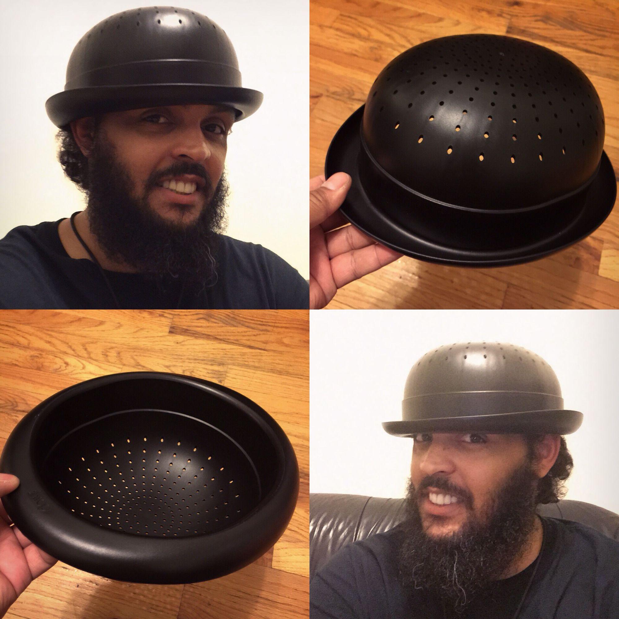 a60a590b4618c I love my new Bowler Hat Colander!!!