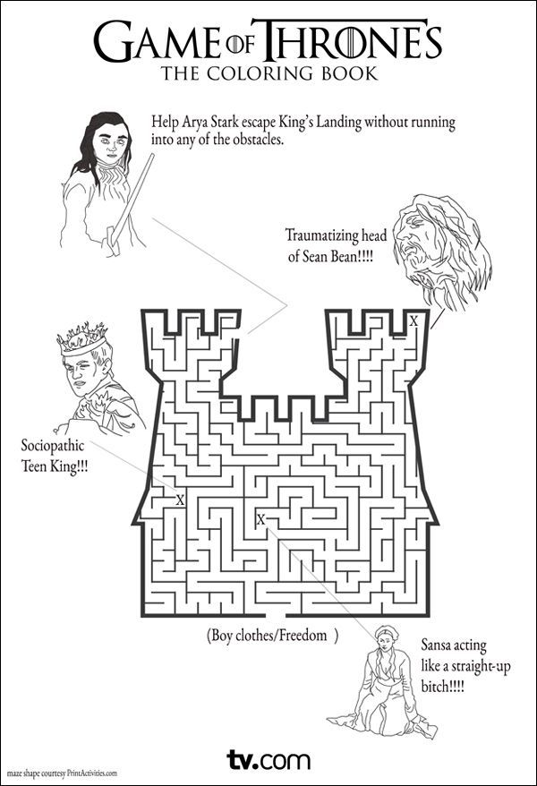 New No Cost game of thrones Coloring Books Popular This is
