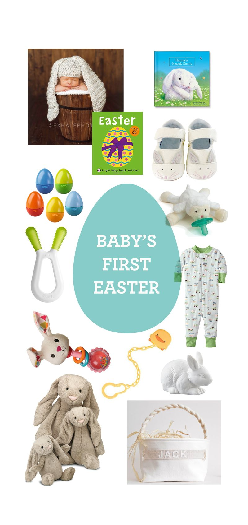 Babys first easter easter baskets easter and babies babies inspiring easter gift ideas negle Images