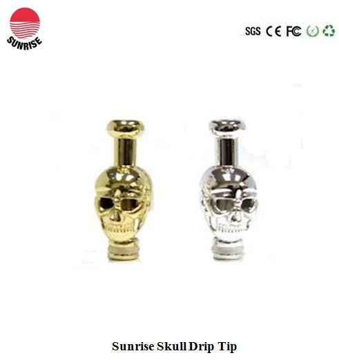 Sunrisecig Skull Drip Tip Nice Design High Quality Can Fit 510 808D 901 Atomizers Cartomizers As Well Some Other Items Like Vivi Nova Tank