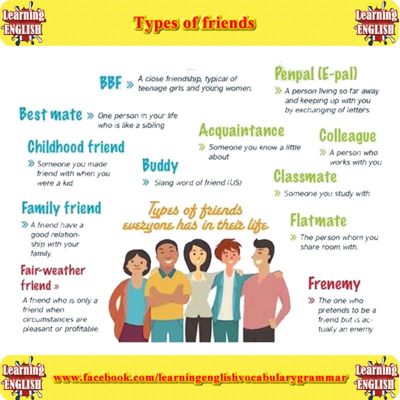 Friends online in english