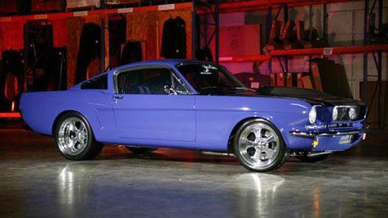 1966 Boss Hoss Mustang - Ghostworks Garage