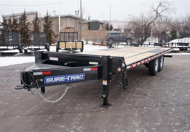 Trailers And Hitches >> This Custom Heavy Duty Deckover Was Outfitted With Oak