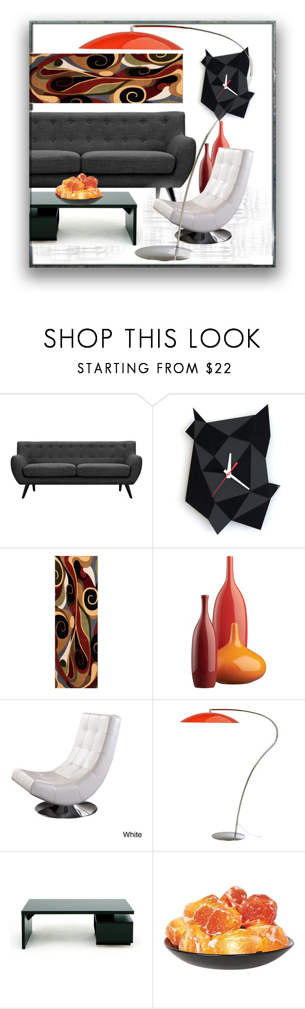 Fire and coal decor under