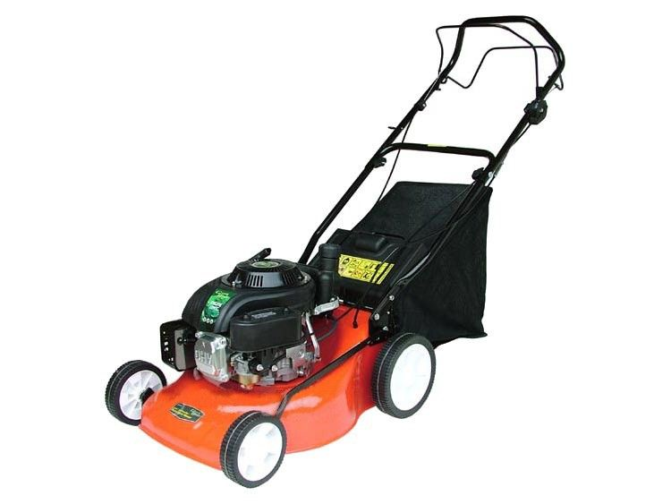 Best Commercial 40cm Push Petrol Lawn Mower With Plastic Deck For Only 183 99