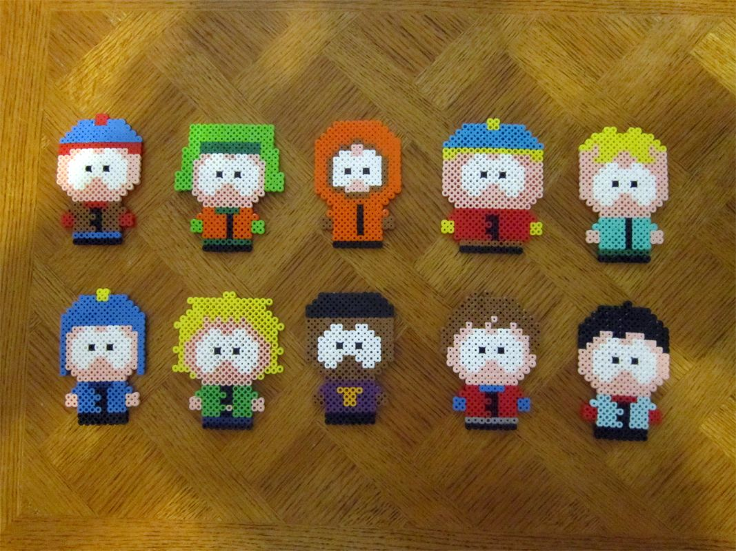 South Park Characters Perler Beads By Reichee On DeviantART