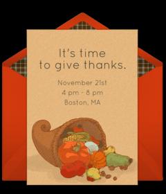 online invitations from pinterest thanksgiving invitation