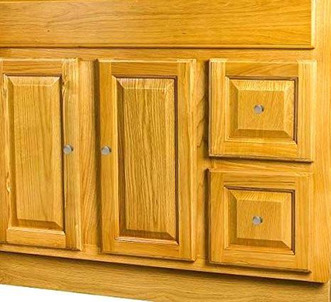 Photo of Great for Raised Panel Oak Bathroom Vanity 36×18 Wood Stained Bedroom Furniture …