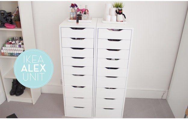 Diva Makeup Queen: DIY IKEA Alex