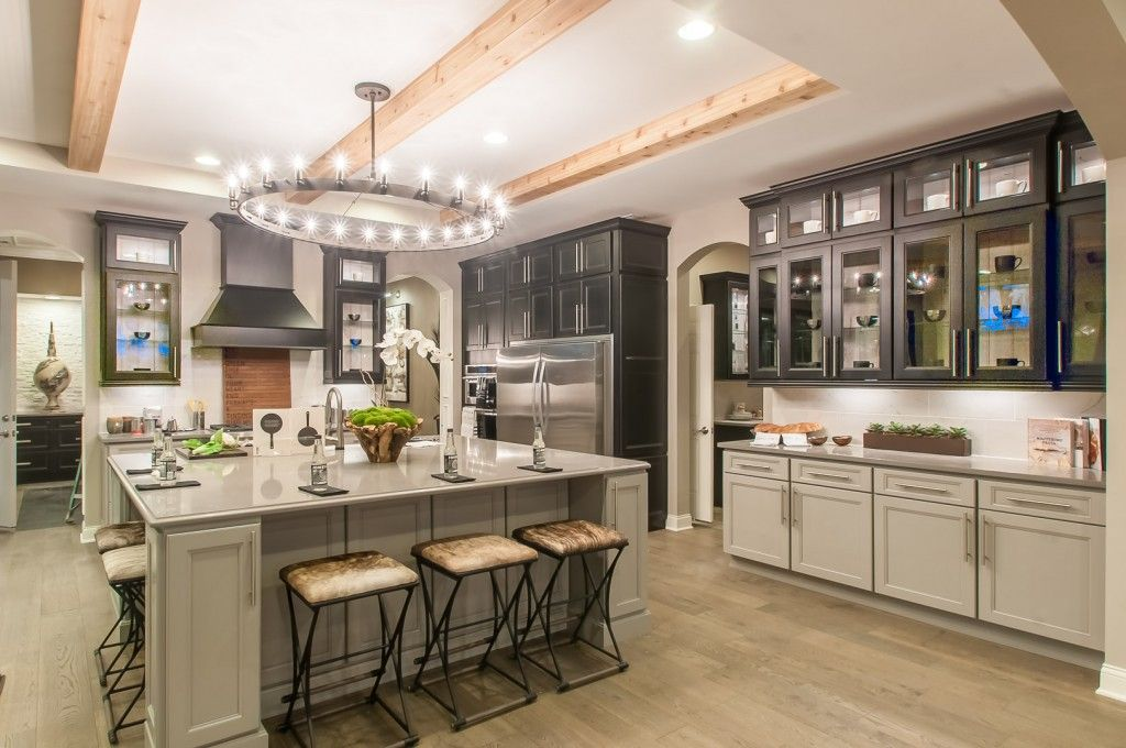 Add A Wow Factor To Your Kitchen With This Light Fixture And Wood