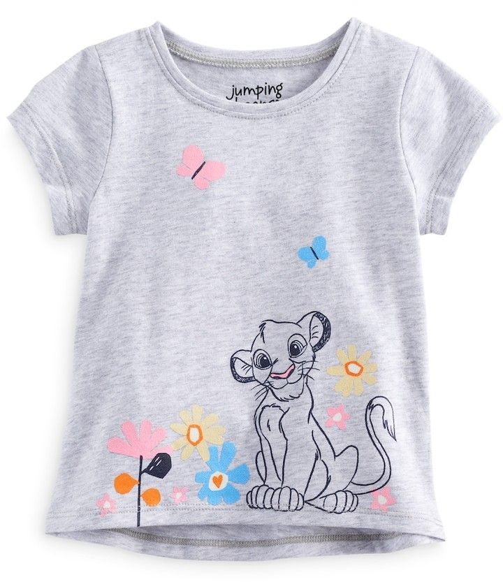 df14f3ee4467 Disney/Jumping Beans Disney's The Lion King Baby Girl Simba Short Sleeve Graphic  Tee by Jumping Beans®