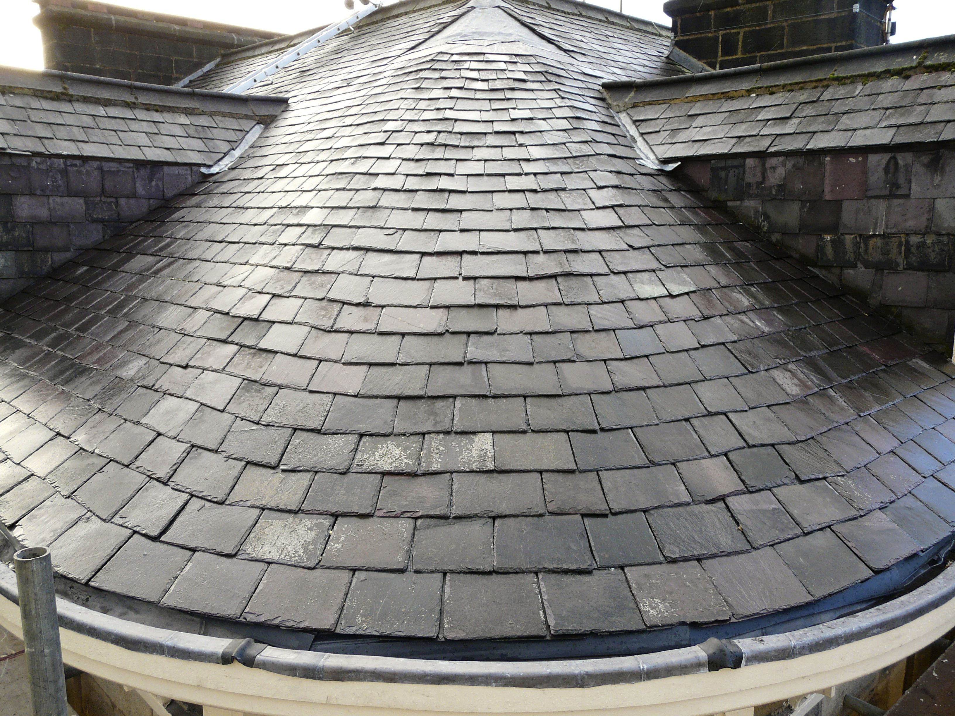 Curved Slate Roof Google Search Slate Roof Roof Repair Roofing