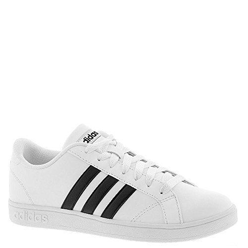 adidas NEO Women's Baseline W Casual Sneaker,White/Black/White,8 M