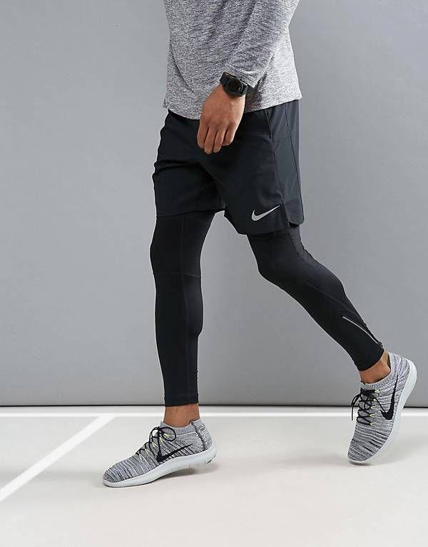 eee6fe0a75f5 Nike Running Flex Challenger 7 Inch Shorts In Black 856838-011 ...