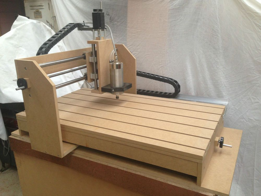 cnc Budget Router Plans, DIY, Engraving, Part & Assembly Drawings with Photos in Industrial, Woodworking, Equipment, Machinery | eBay!