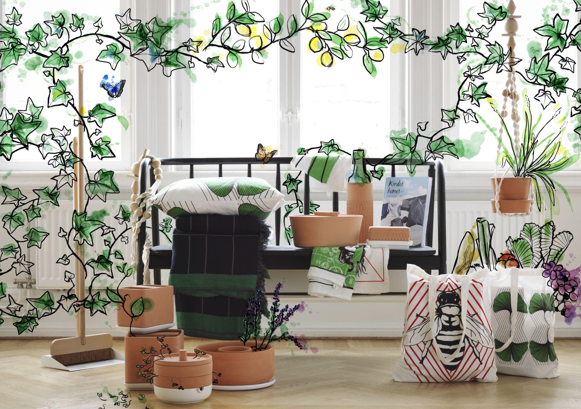 La collezione anv ndbar ti aiuta a vivere una vita pi sostenibile in casa in modo pi - Arredamento casa completo ikea ...