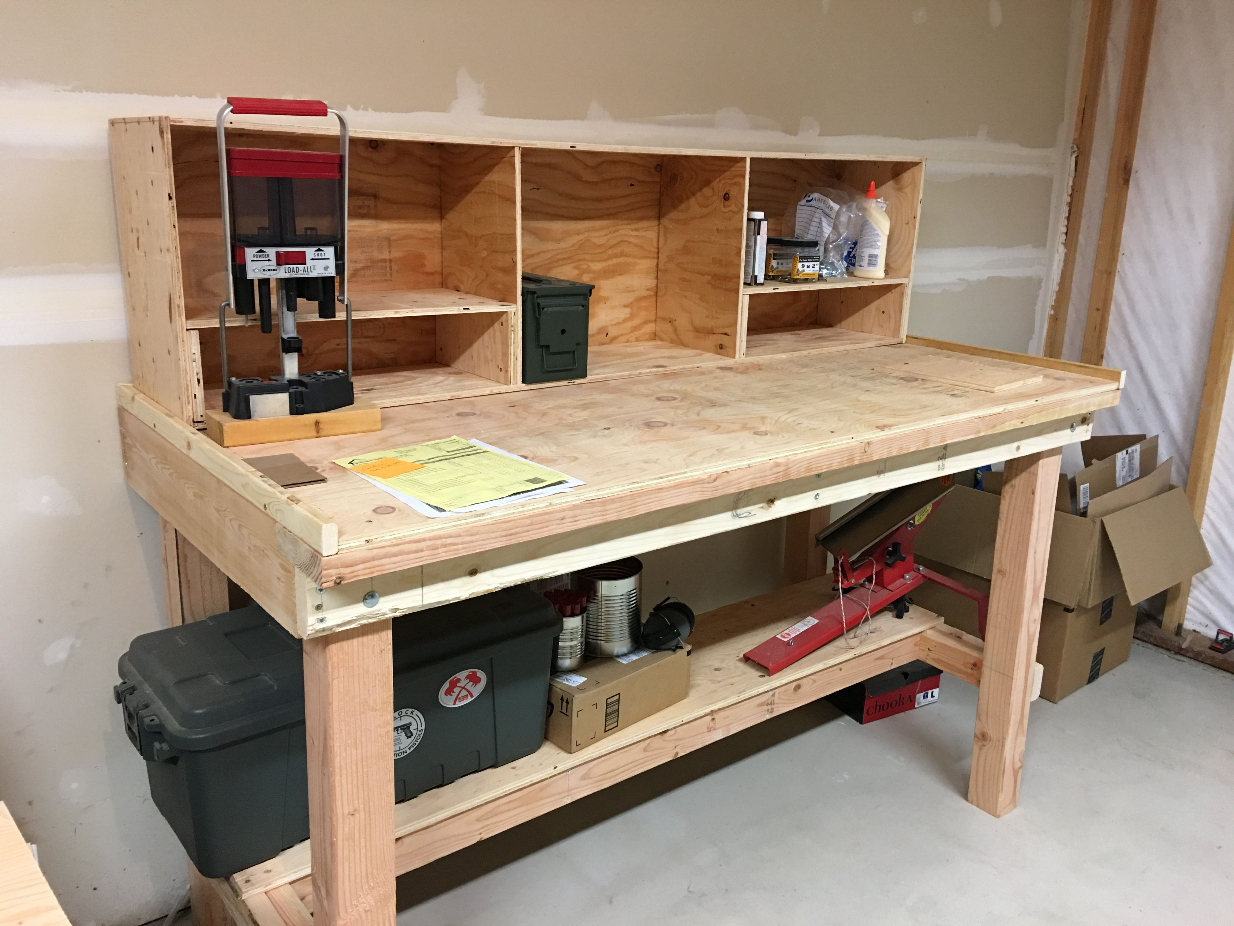 Pin By John Denver On Workbench Garage Workbench Plans Diy