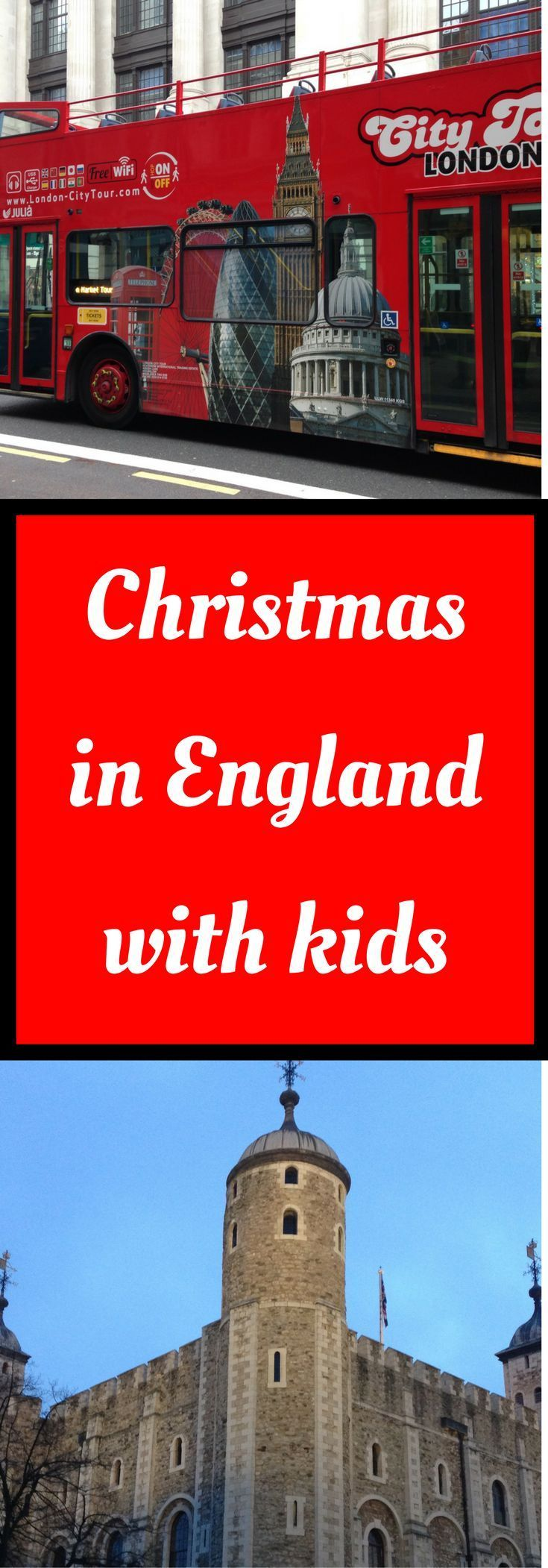 Campbell Busy London at Christmas Kids Children Baby Push