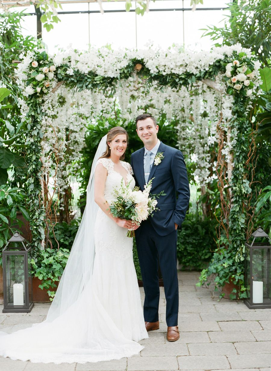 Elegant Greenhouse Wedding | photography by http://www.kellysweet.com (via @amiatead)