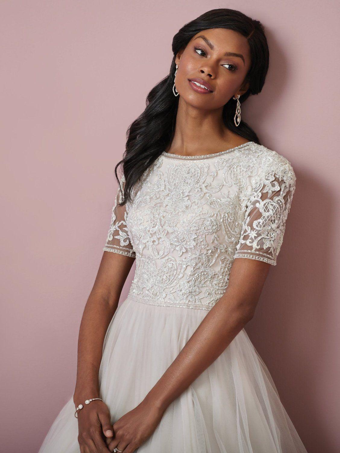 Eliza Anne By Rebecca Ingram Wedding Dresses Modest Wedding Dresses Dresses Designer Wedding Dresses