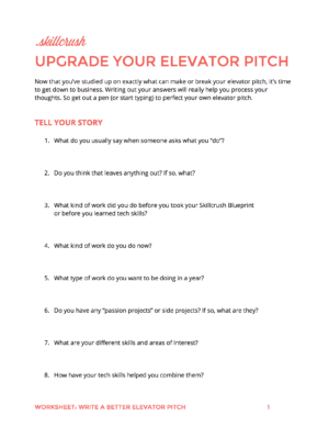 How to Write an Elevator Pitch: A Step-by-Step Guide | Pitch ...