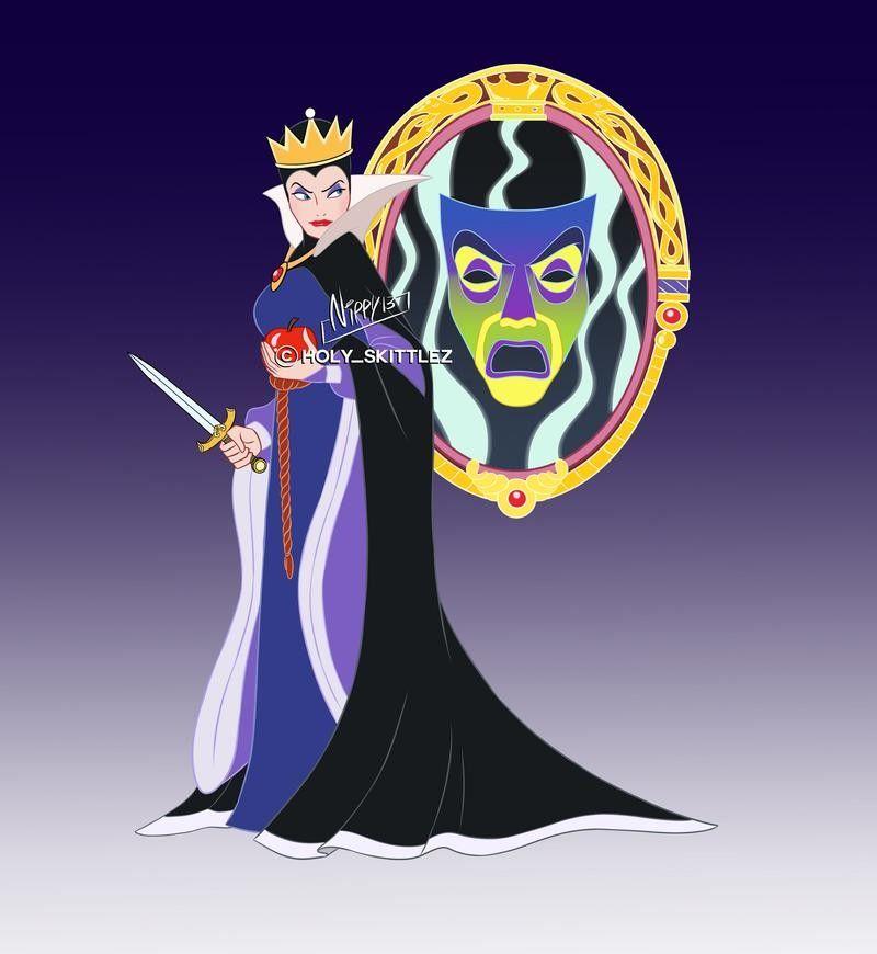 Pin By Dian Ramos On Disney Concept Art Disney Evil Queen Evil Queen Disney Concept Art