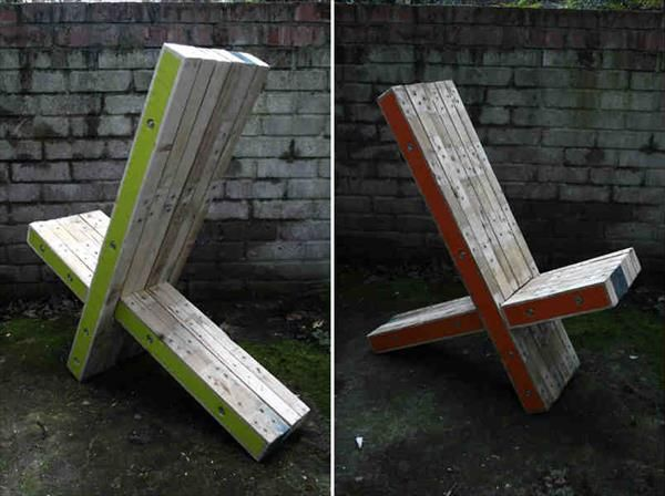 Garden Furniture From Wooden Pallets wood pallet chairs | chairs, pallet chair and pallets