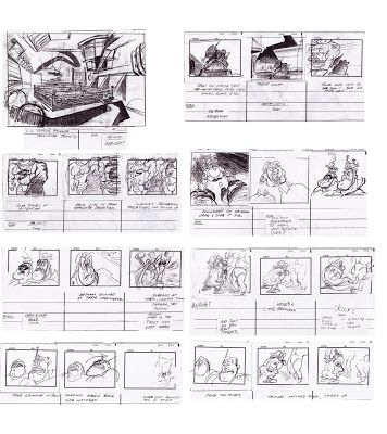 Ripping Friends Storyboards  Storyboard And Comic Panel Samurais