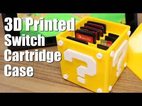 3d printed pokeball switch cartridge case -  | stuff to buy ...