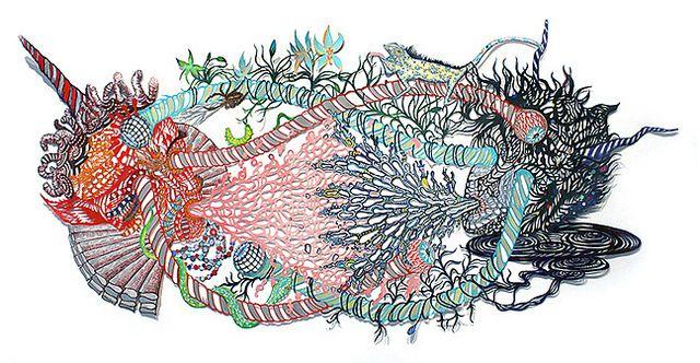 Kako Ueda's Detailed Paper Cut Artworks | Hi-Fructose Magazine