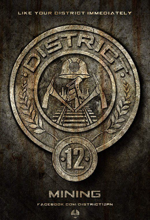 District 12 Distrito 12 The Hunger Games Pinterest Hunger