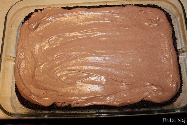 Chokolade-snask-kagen