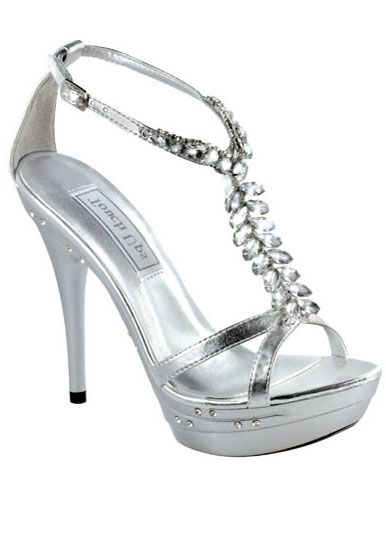 ba96a5bb889 Touch Ups Patsy 473 - Silver Jeweled Platform Prom Dress Shoes Online   thepromdresses