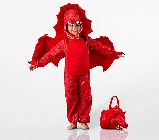 Red Dragon Costume Dragon Costume New Halloween