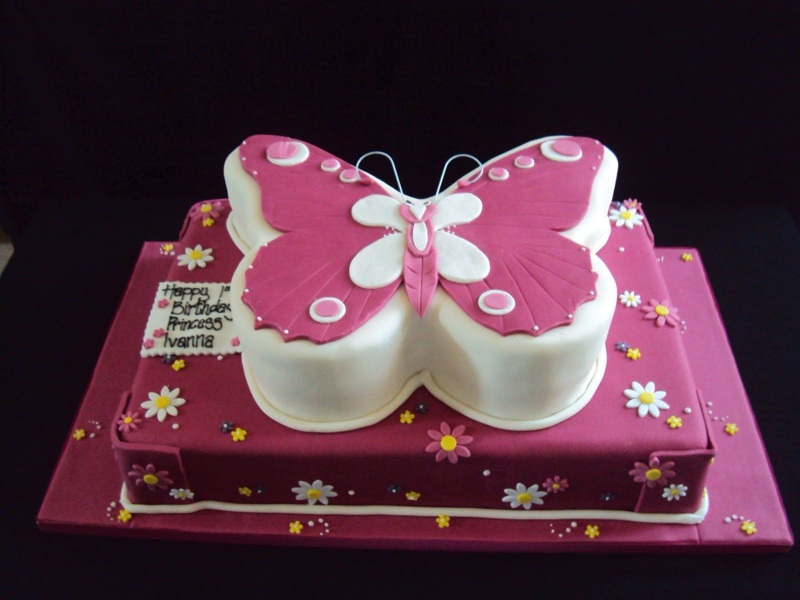 Butterfly Cake Decorations 6 Butterfly Cakes Birthday Cake Pictures Simple Birthday Cake
