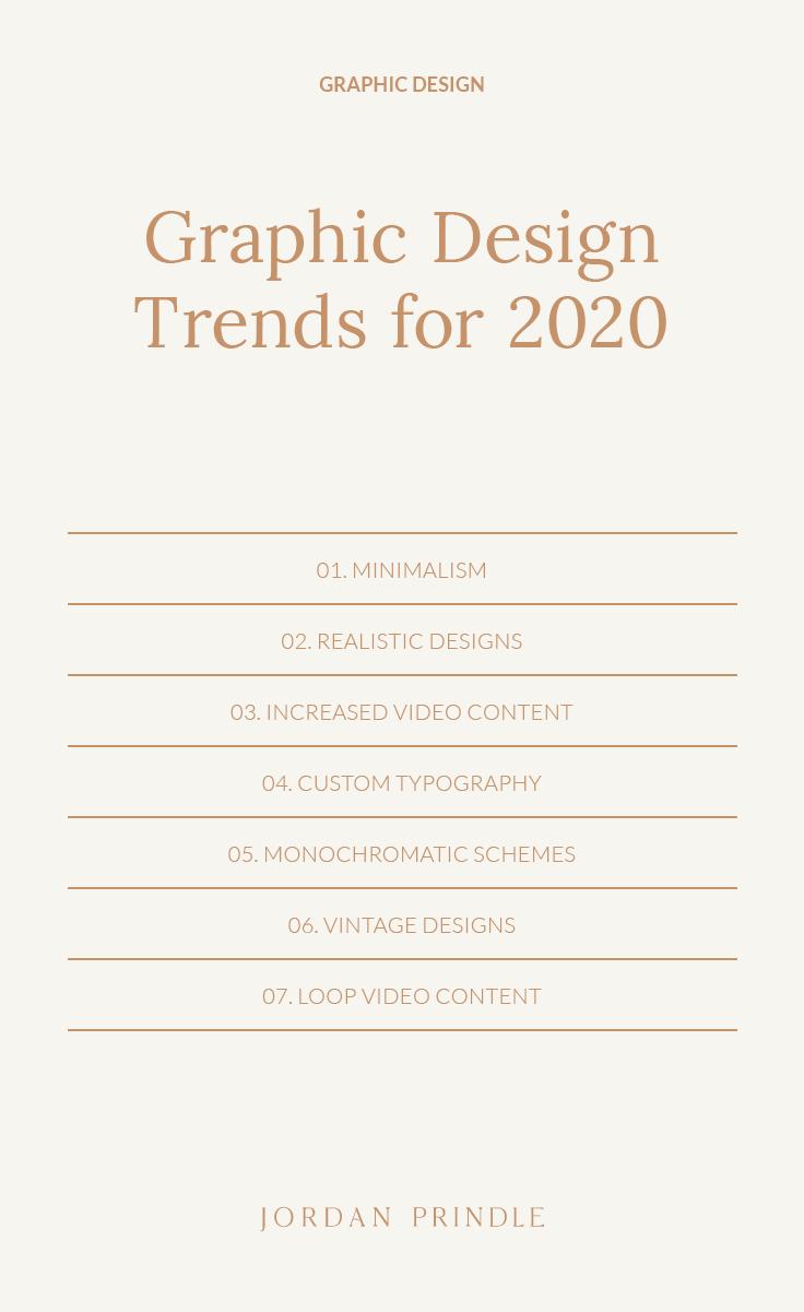 Graphic Design Trends For 2020 — Jordan Prindle Designs | Creative Brand and Squarespace Designer for Entrepreneurs