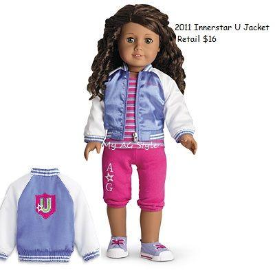 American Girl Doll 2011 Innerstar U Jacket