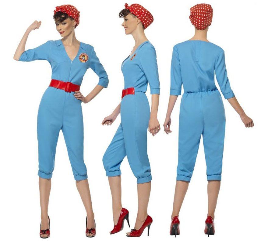 disfraz mujer trabajadora