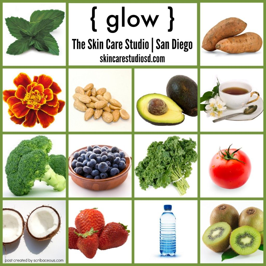 Foods that make your skin glow Clear